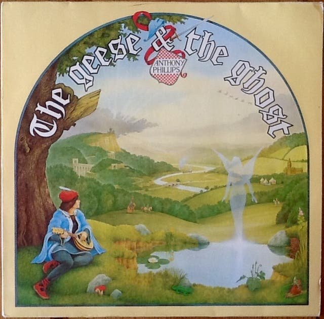 """ANTHONY PHILLIPS """"THE GEESE & THE GHOST"""" LP"""