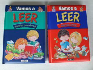 2 libros infantiles VAMOS A LEER