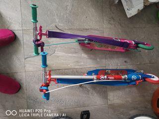 se vende bicicleta patines niño
