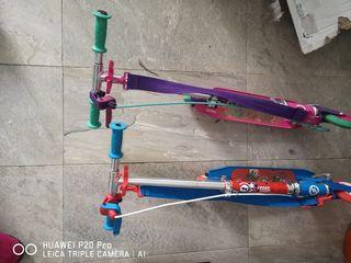 se vende bicicleta y patines niño