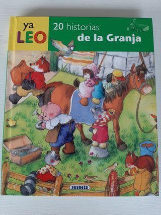 Libro infantil: 20 historias de la granja