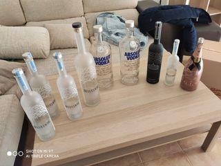 Vendo botellas