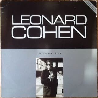 """LEONARD COHEN """"I'M YOUR MAN"""" LP"""
