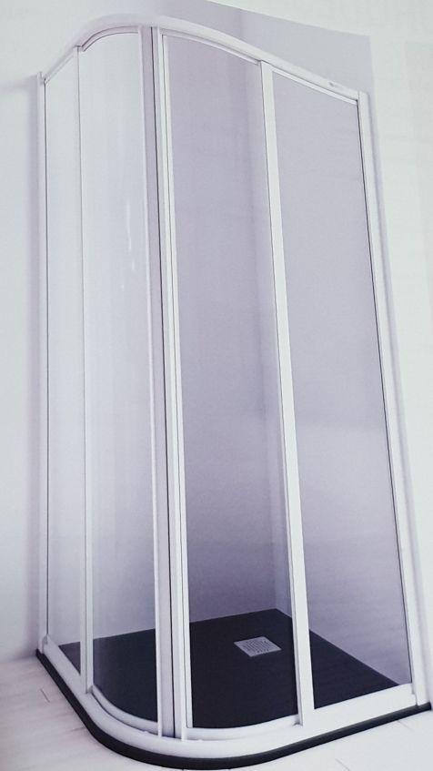 MAMPARA DUCHA SEMICIRCULAR 90 cm. NUEVA