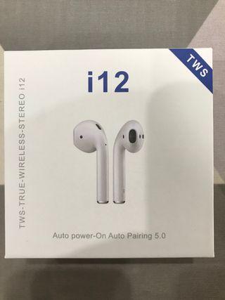 Auriculares inalámbricos i12 TWS NUEVOS