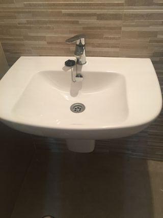 NUEVO: lavabo baño suspendido