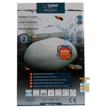 Askoll 264596 Ciano CF Stone 80 Filtro Interno