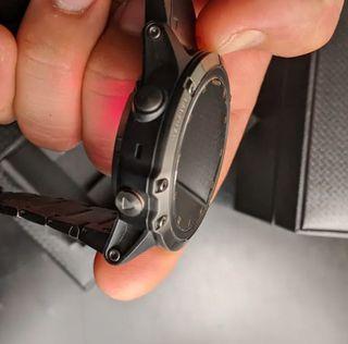 Fenix 5x Plus zafiro titanio DLC