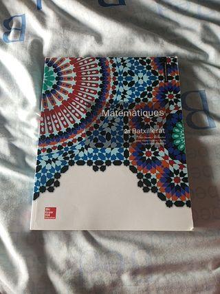 Libro matemáticas 2n Bachillerato