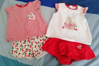 Ropa bebé niña 9 a 12 meses primavera