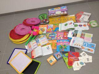 Libros y juegos de chino para niños