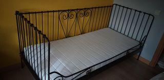 Cama infantil/juvenil con colchón