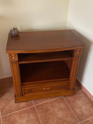 Mueble de televisión madera de cerezo
