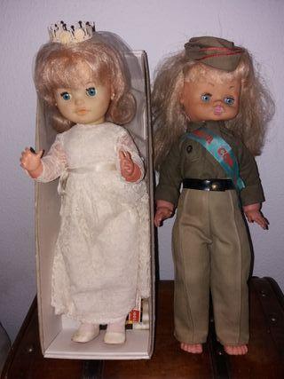 Muñecas Vintage Comunión/Boda/Recluta