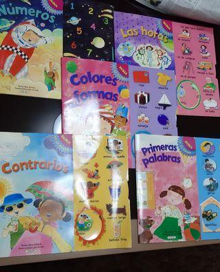 Pack de libros infantiles de aprendizaje