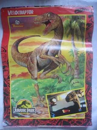 posters parque jurásico matutano Jurassic Park 90s