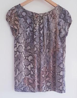Blusa Zara animal print