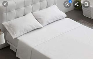 Sabana blanca de hotel