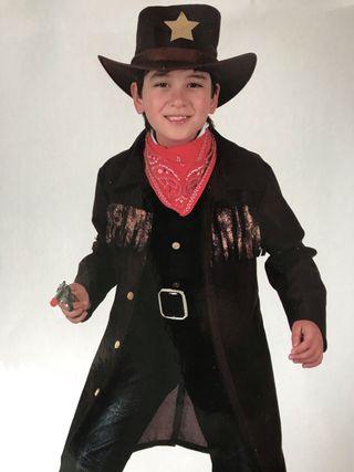 Disfraz Cuatrero Cowboy Lejano Oeste (7-9)