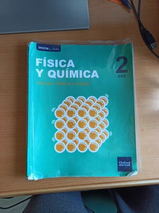Libro Física y Química 2°ESO Ed.Oxford Education