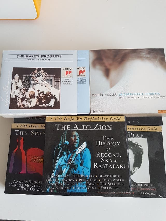 Pack CDs música clásica y contemporanea