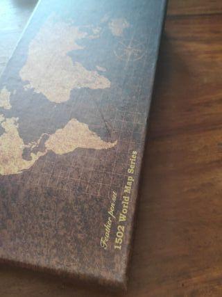Pluma estilográfica 1502 World Mal Series