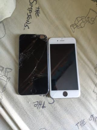 iPhone 6 negro y blanco
