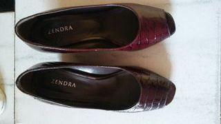 Zapatos zendra 37