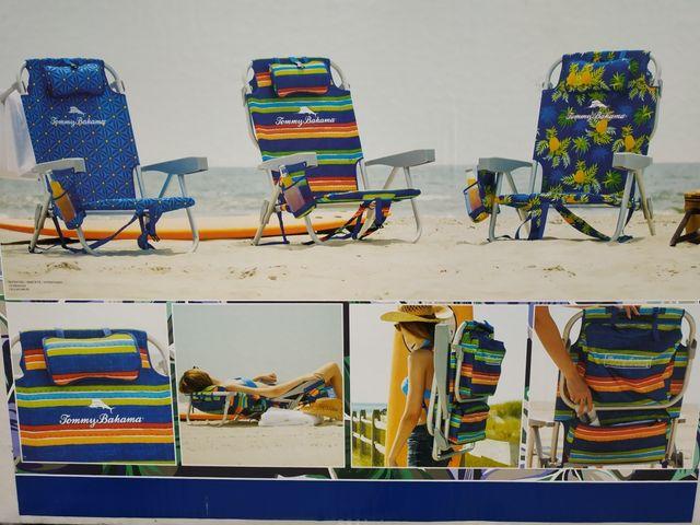 Silla playa mochila Tommy Bahamas