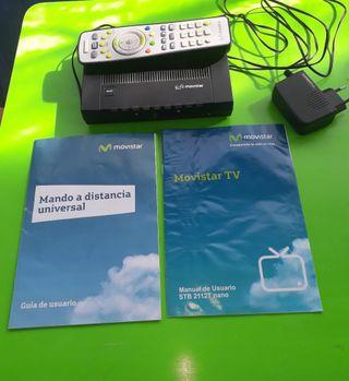 Decodificador de TV Movistar