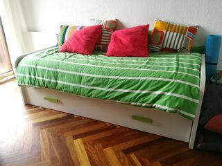Cama nido para colchón 180x80 cm