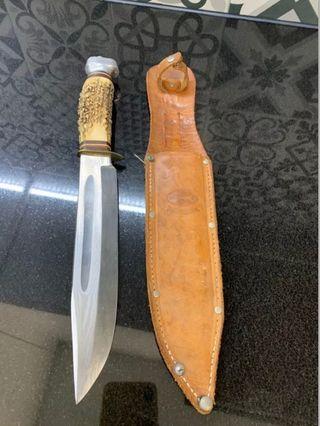 Cuchillo antiguo Solingen