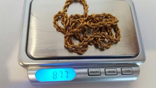 Cordon de oro 18k