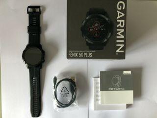 GARMIN FENIX 5X PLUS. IMPECABLE!!! GARANTIA!!!