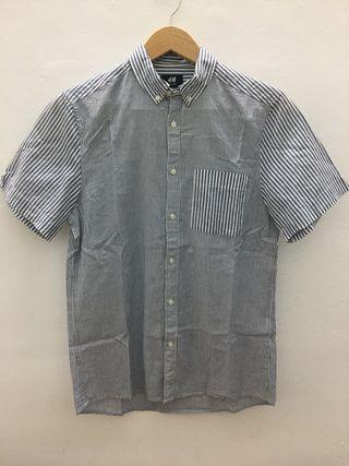 Camisa rayas grises