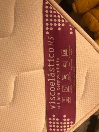 Colchón viscoelástico Termovariable 150x190