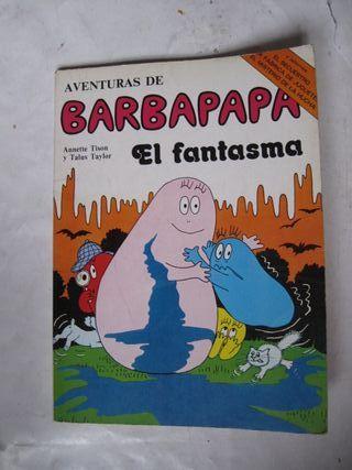 cuento Aventuras de Barbapapa el Fantasma Tison