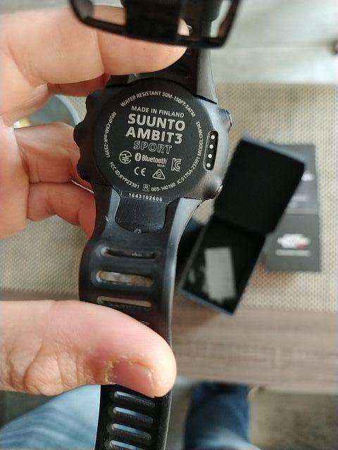 Suunto Àmbit 3 Sport Black HR