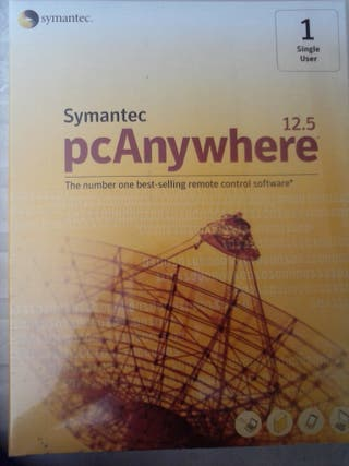 software precintado pcanywhere 12.5