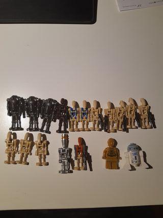 Lego Star Wars minifiguras