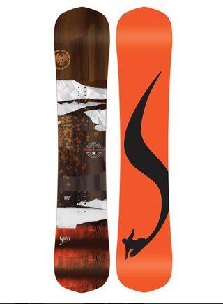Tabla de snowboard neversummer shaper 156cm NUEVA