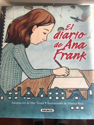 """Libro juvenil """"Diario de Ana Frank"""""""