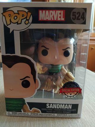Funko Pop Sandman Marvel 524 Social Edition