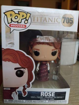 Funko Pop Titanic Rose Película Jack