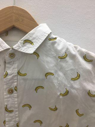 Camisa plátanos Bershka