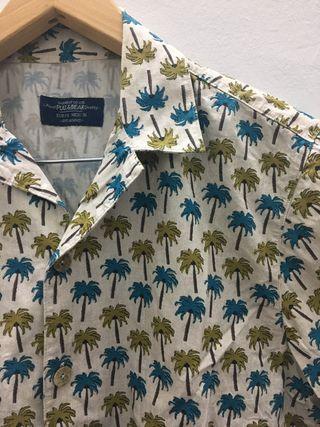 Camisa palmeras Pull&Bear