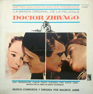 Doctor Zhivago. BSO. Maurice Jarre. LP