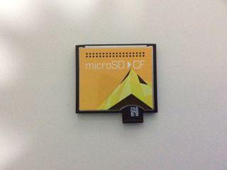 Convertidor de microSD a compacflash