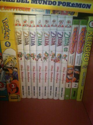 coleccion comics The legend of Zelda