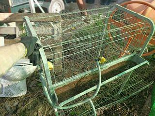 vendo jaula de gallinas